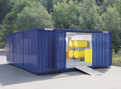 SAFE Hazmat Storage Containers