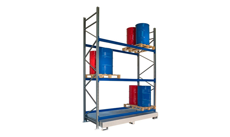 sc 1 st  SÄBU Modular Construction & Pallet Rack PR-24 for 24 drums